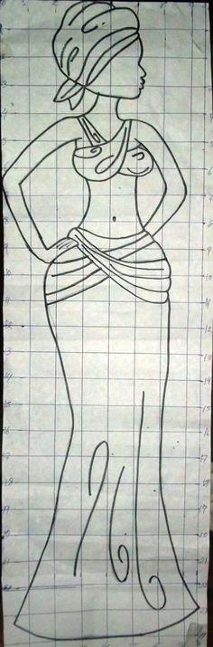 Egyptian Drawings, African Art Paintings, Africa Art, Glass Butterfly, Mural Wall Art, Black Women Art, Bottle Art, Art Plastique, String Art