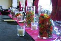 Thank You Chocolates - Candy Buffets and Chocolate Favours for all Occasions - Gift Baskets/Centerpieces