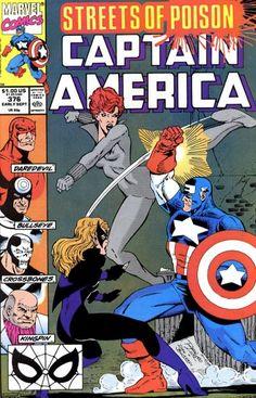 Captain America # 376 by Ron Lim & Danny Bulanadi