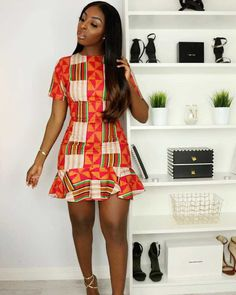 Beautiful Short Ankara Gown Styles ankara short gown styles of 2019 can never get better African Fashion Ankara, Latest African Fashion Dresses, African Inspired Fashion, African Print Fashion, Africa Fashion, African Style, Ghana Fashion Dresses, Nigerian Fashion, Fashion Outfits
