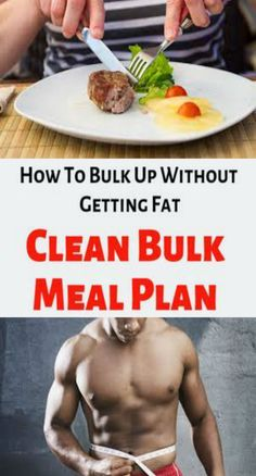 Clean Bulk Meal Plan – How To Bulk Up Without Getting FatIt's an endless cycle for some guys: Turn into a Clean Bulk Meal Plan, then crash diet to burn the belly fat and reveal those hard-earned abs. Clean Bulk Diet, Clean Bulk Meal Plan, Bulking Meals, Bulking Diet, Fitness Motivation, Fitness Goals, Best Weight Loss Supplement, Home Health Care, Health Tips