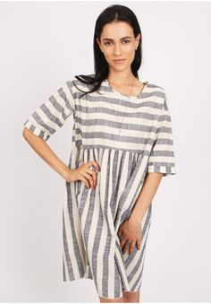 Fulton Street Striped Dress | Modern Vintage Clothing | Ruche