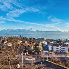 8. Collège du Belvédère  ©DR Lausanne, Four Square, Lake Geneva, Mountains, Ride Or Die