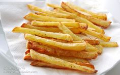 baked oven fries / healthy way of cooking the delicious fries