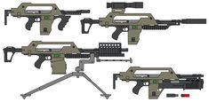 Alien - Ripley's M41a Pulse Rifle