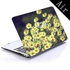 Vintage Daisies Photography Design Full-Body Protective Plastic Case for 11-inch/13-inch New MacBook Air 2016 – $28.59
