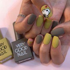 Cute Nail Art, Cute Nails, Palm Nails, Korean Nails, Nail Arts, Nail Art Designs, Fashion Beauty, Manicure, Make Up