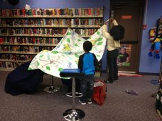 The Show Me Librarian: Family Forts After Hours