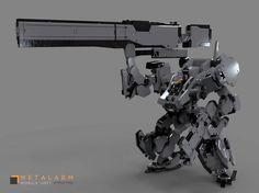 ArtStation - Metal arm, Gary Chan
