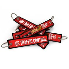 Air Traffic Control - Funny embroidered keyring
