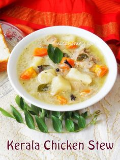 Chicken stew, made with coconut milk ...step by step tutorial.