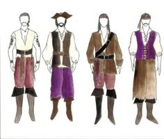 male pirate costume ideas