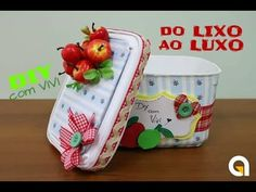 DIY DO LIXO AO LUXO/ ABAJUR DECORATIVO COM POTINHOS DE IOGURTE/ DIY ROOM DECOR - YouTube