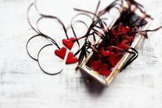 Hey, I found this really awesome Etsy listing at https://www.etsy.com/listing/177560433/rustic-wedding-favors-red-hearts