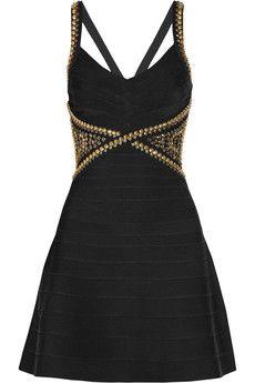 Hervé Léger Embellished bandage dress | NET-A-PORTER  Totally IN LOVE!!!