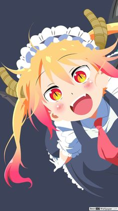 All Anime, Me Me Me Anime, Anime Art, Dragon Maid Manga, Kobayashi San Chi No Maid Dragon, Miss Kobayashi's Dragon Maid, Cute Backgrounds, Webtoon, Kawaii Anime