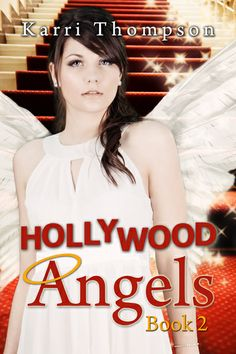 This is the cover of HOLLYWOOD ANGELS! I love it!
