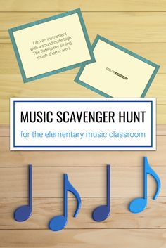 Directions for how to play a music scavenger hunt in the elementary music classroom using file folders. Awesome tips for game rules and students roles. Includes a free answer sheet to play your own game!