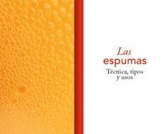 recetas de espumas de el restaurante El Bulli