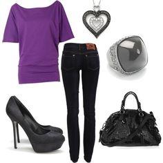 Pop of Purple