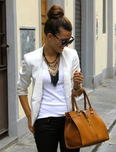 Some tips for putting together creative professional outfits. Great for those in a creative field who need to look polished but stylish in the workplace.