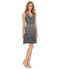 This would be precious with a 20s hat! So Throughly Modern Millie! CATHERINE CATHERINE MALANDRINO Carmen Jacquard Dress #Dillards