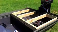 Jon Boat Deck Ideas - Bing Images