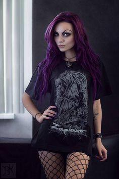Model: Darya Goncharova Photo: B.Kostadinov Welcome to Gothic and Amazing  www.gothicandamazing.org