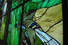 Détail de vitrail -  Musée départemental Maurice Denis
