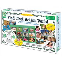 Find That Action Verb! Listening Lotto