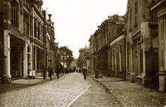 Almelo, Grootestraat nieuwe eind rond 1900
