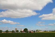 Blue skies .. Lancaster County