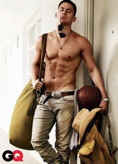 Channing Tatum. :)