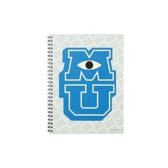 MU Logo Note Books #Disney #MonstersUniversity #MonstersInc #Zazzle