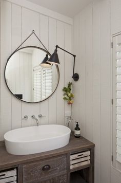 Farmhouse Master Bathroom Makeover- ORC Week 2 More Well, what can I say. Week 2 is here, and much has been done. Does that make sense? This farmhouse master bathroom makeover is stressing. Downstairs Bathroom, Bathroom Renos, Small Bathroom, Master Bathroom, Bathroom Fixtures, Bathroom Lighting, Bathroom Remodeling, Bad Inspiration, Bathroom Inspiration