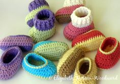 Infant Crocheted Bootie-Slippers