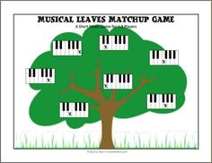 This is a short music game I created as a way to reinforce the names of the piano keys with young beginners. It only takes a few minutes to play, but my students seemed to enjoy it. Piano Games, Music Games, Piano Music, Piano Keys, Fun Music, Piano Songs, Music Activities, Music Flashcards, Flashcards For Kids