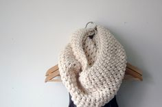 We practically can't wait for chilly winds so we can snuggle up in this lovely neck warmer. #countryliving