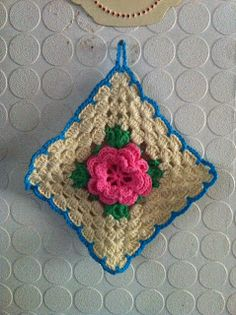 inverleith: Crochet  link to pattern , done as potholder