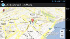 ActionBarSherlock ile Google Maps Android API 2 Kullanımı