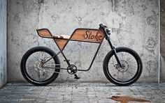 """We often get asked if our accessories are appropriate for motorcycles. The answer is typically, """"no,"""" but if you're on Martin Aveyard's 'Stoke' bicycle, the answer becomes, """"yes please!"""""""