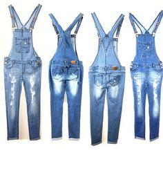 Juniors Denim JEANS Overall Destroy Long Skinny Pants Jumper Ripped Distressed - For Sale Check more at http://shipperscentral.com/wp/product/juniors-denim-jeans-overall-destroy-long-skinny-pants-jumper-ripped-distressed-for-sale/