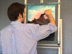 Landscape Painting Episode 2 by Jason Bowen Oil Painting Lessons, Oil Painting Techniques, Art Techniques, Jason Bowen, Bob Ross Paintings, Landscape Paintings, Landscapes, Pastel, Art Tutorials