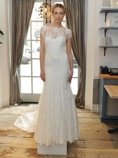 Lela Rose Previews Her Spring Wedding Dress Collection at French Restaurant Claudette for Bridal Fashion Week (Video) | TheKnot.com