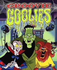 The Groovie Ghoulies cartoon . I love the Groovie Ghoulies. Cartoon monsters in a rock band. 70s Cartoons, Vintage Cartoons, Old School Cartoons, Classic Cartoons, Vintage Comics, Cartoon Monsters, Cartoon Characters, Cartoon Fun, Halloween Books