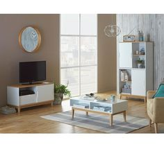 Buy Hygena Skye Coffee Table - White at Argos.co.uk - Your Online Shop for Coffee tables, side tables and nest of tables, Living room furniture, Home and garden.
