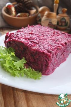 """Салат свекольный """"По-новому"""" - кулинарный рецепт"""