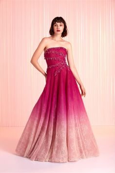 Tony Ward Spring-summer 2020 - Ready-to-Wear Pink Prom Dresses, Strapless Dress Formal, Formal Dresses, Formal Wear, Tony Ward, Elie Saab, African Traditional Dresses, Fashion Photography Inspiration, Tulle Dress