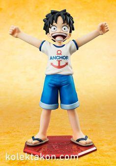 Excellent Model MILD Portrait.Of.Pirates One Piece CB-1R Monkey D. Luffy - MegaHouse (PVC Figure)