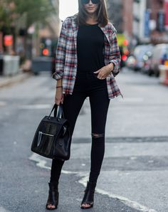 10 Fresh Ways to Wear Skinny Jeans This Fall